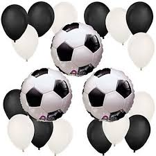 soccer party supplies soccer birthday party balloon kit by party supplies