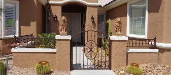 courtyard entry gates artistic iron works ornamental wrought
