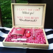 bridesmaid boxes bridesmaid box will you be my bridesmaid knot and nest designs