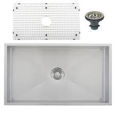 Ticor Kitchen Sinks Ticor S6503 Undermount 16 Stainless Steel Kitchen Sink