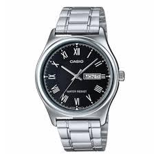 Jam Tangan Casio Mtp review jam tangan casio mtp v006d 1b standard silver black