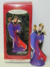 walt disney s snow white jealous hallmark keepsake ornament