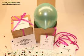 balloons with gifts inside will you be my of honor balloon message gift box
