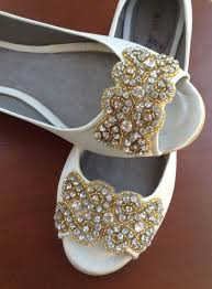 gold shoes for wedding wedding shoes wedding peep toes flat wedding shoes bridal shoes