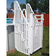 above ground pool steps u0026 ladders pool accessories