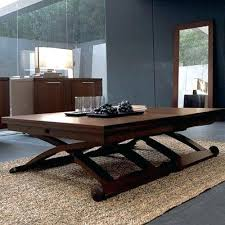 coffee table to dining table adjustable adjustable height dining table dinner coffee table s table height