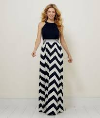 chevron maxi dress navy chevron maxi dress 2016 2017 b2b fashion