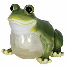 solar frog light solar frog sammy the solar toad garden light
