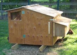 poultry house construction plans with chicken feeder inside coop