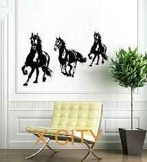 popular horse run wall mural buy cheap horse run wall mural lots horse running animal wall art decal mural sticker stencil vinyl cut transfer living room interior home