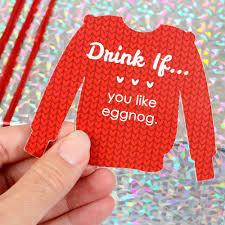 amazon com drink if game ugly sweater christmas u0026 holiday