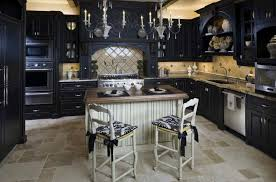43 dramatic black kitchens that make a bold statement dramatic black kitchen ideas 07 1 kindesign