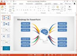 mind map template powerpoint free download casseh info