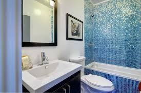 blue tile bathroom ideas bathroom with vibrant blue tile modern bathroom los angeles