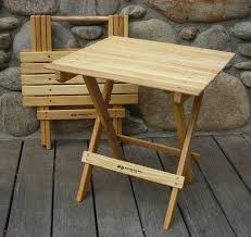 Folding Wooden Garden Table Home Design Pretty Folding Table Wooden And Chairs Awesome With