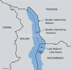 Un Map Malawi Takes Lake Dispute To Un Au The Nation Online