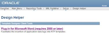 making way into peoplesoft xml publisher in peoplesoft