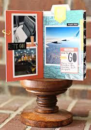 travel photo albums travel mini album inspiration crate paper