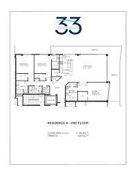 floor plan model a2 linea at33 intracoastal fort lauderdale