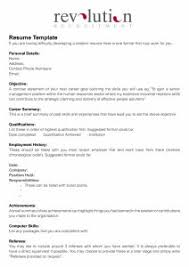 Medical Assistant Resume Samples No Experience by Resume Example For No Work Experience Templates