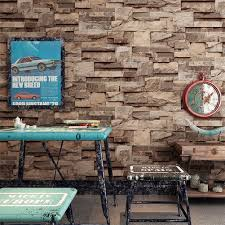 online get cheap realistic wall murals aliexpress com alibaba group realistic stacked brick stone vinyl background wallpaper home mural art decor china