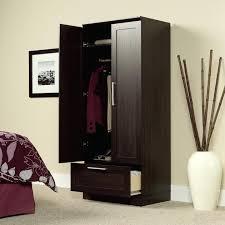 sauder homeplus wardrobe storage cabinet wardrobes sauder homeplus wardrobe image of base cabinet oak