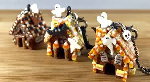 halloween charms polymer clay glow in the dark miniature halloween candy