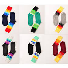 discount mens colorful dress socks 2017 wholesale mens colorful