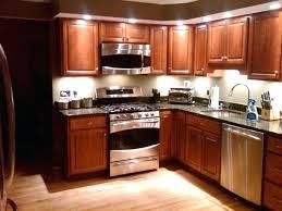 kitchen under cabinet lighting led kitchen under cabinet lighting kitchen with wooden cabinets and