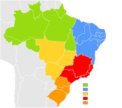 map of brazil states of brazil