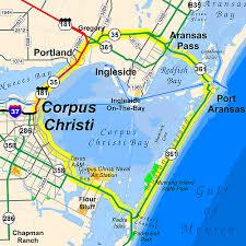 tamucc map scenic drive around corpus christi bay