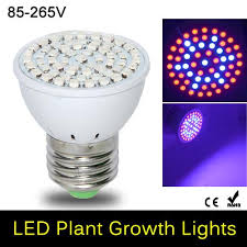 new led full spectrum e27 60leds faster growth lights 41 red 19
