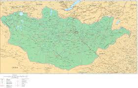 Mongolia On World Map Mongolia Road Map Mongolia Highway Map Mongolia Railway Map