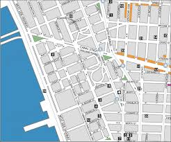 st map york city chinatown manhattan canal map