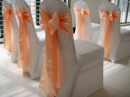 bows for chairs wedfavor 100pcs banquet satin chair sash wedding chair bow