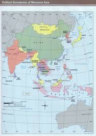 Asia Geography Map by Brookville Intermediate
