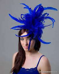 hair fascinators sapphire blue fascinator mayfair fascinators by jemma loveridge