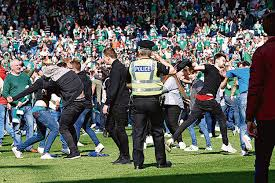 from scottish cup winners to sinners supporters of edinburgh side