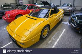 retro ferrari retro cars like the ferrari 348 spider on display at the showroom