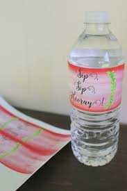 thanksgiving water bottle labels welcome bag for your wedding guests