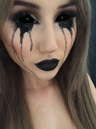 Asylum Halloween Costumes Black Halloween Makeup Ideas Explore Darkest Side