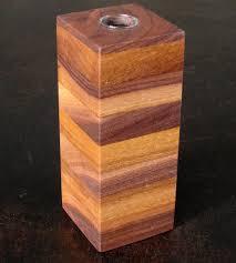box vase black walnut home decor u0026 lighting bdj craft works