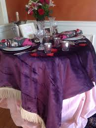 romantic valentine table for two french gardener dishes