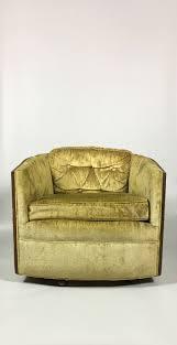 barrel back swivel chair vintage armchair mid century modern