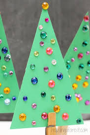 jeweled tree craft for housing a forest