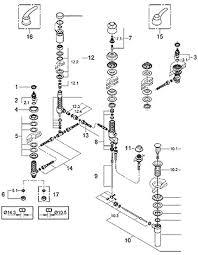 kohler kitchen faucet parts diagram parts for grohe talia series bathroom fixtures