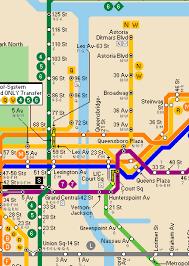map of ny subway www nycsubway org page