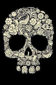 sugar skull wallpaper flower sugar skull iphone 4