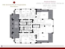 Floor Plans Mansions by Mansions At Acqualina Condo Mansions At Acqualina 17749