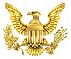 Bald Eagle And American Flag Gold American Eagle Design With Bald Eagle Of The United States
